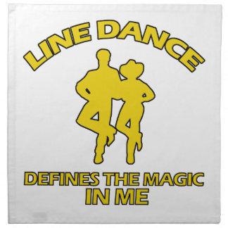cool Line dance designs Napkin