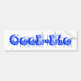 CooL-Lio Bumper Sticker