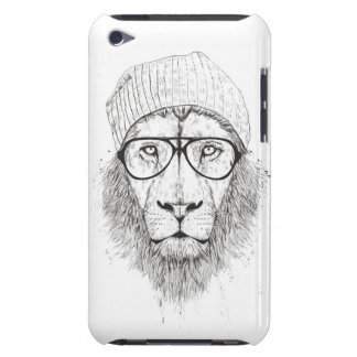 Cool lion (blackandwhite) barely there iPod case