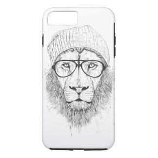 Cool lion (blackandwhite) Case-Mate iPhone case