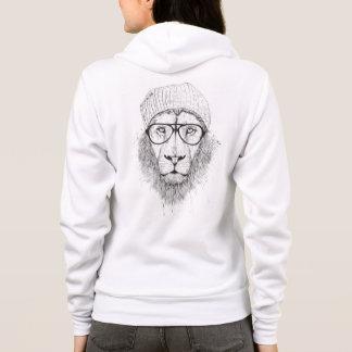 Cool lion (blackandwhite) hoodie