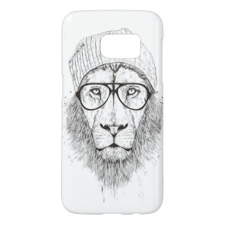 Cool lion (blackandwhite) samsung galaxy s7 case