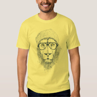 Cool lion tee shirt