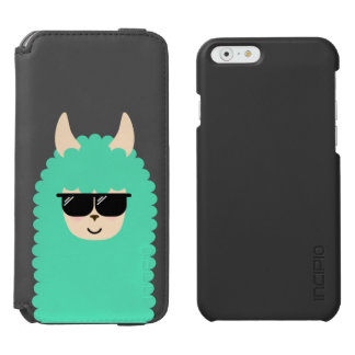 Cool Llama Emoji Incipio Watson™ iPhone 6 Wallet Case