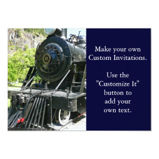 Cool Locomotive Train Card
