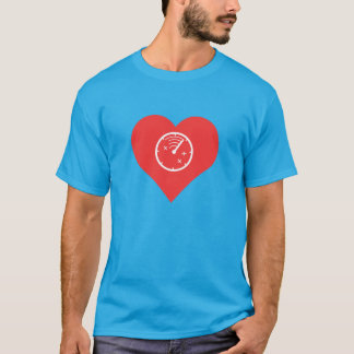 Cool Love Airplane Radars T-Shirt