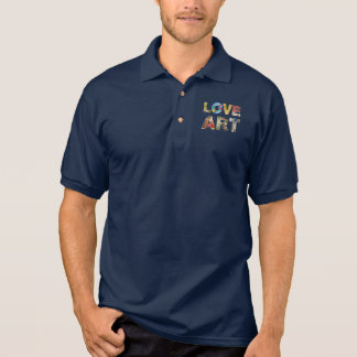 Cool Love Art Famous Masters For Peace Funny Polo Shirt