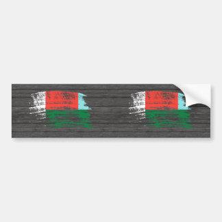 Cool Malagasy flag design Bumper Sticker