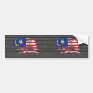 Cool Malaysian flag design Bumper Sticker