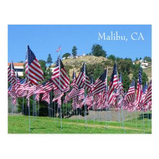 Cool Malibu Postcard! Postcard