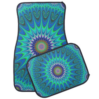 Cool mandala car mat