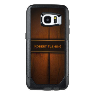 Cool Masculine Faux Baltic Pine Wood Photo Print OtterBox Samsung Galaxy S7 Edge Case