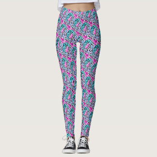 Cool Maze Patterned Leggings