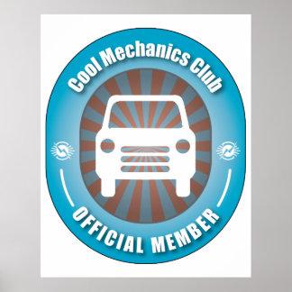 Cool Mechanics Club Posters