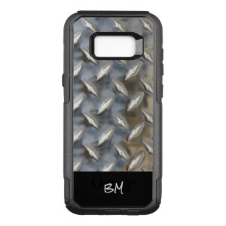 Cool Mens Monogram Rugged OtterBox Commuter Samsung Galaxy S8+ Case