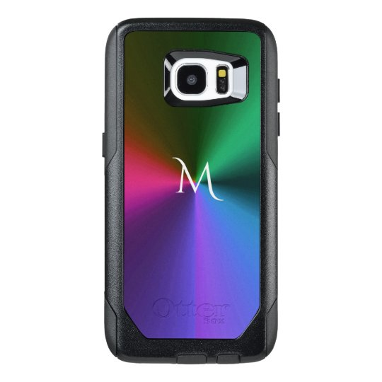 Cool Metallic Colour Monogram Otterbox S7 Edge OtterBox Samsung Galaxy S7 Edge Case