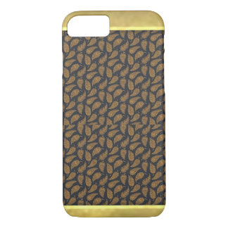Cool Metallic Pattern Gold iPhone 7 Plus Case