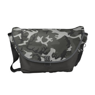Cool Military Style Urban Camo Courier Bags