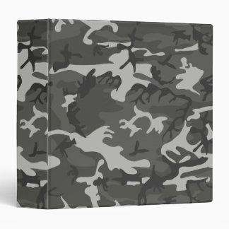 Cool Military Style Urban Camouflage Binders