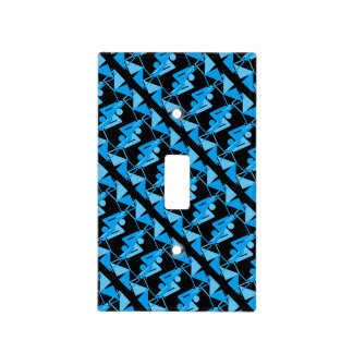 Cool Mirrored Geometric & Abstract Pattern Light Switch Cover