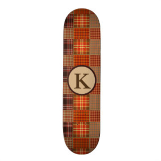 Cool Mixed Plaids Skate Decks