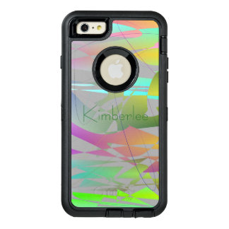 Cool Modern Abstract (change name) OtterBox iPhone 6/6s Plus Case