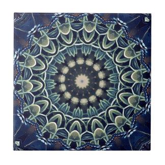 Cool Modern Artistic Lacey Mandala Ceramic Tiles