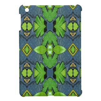 Cool Modern Blue Green Tribal Pattern Case For The iPad Mini