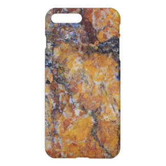 Cool Modern Brown Faux Marble Stone iPhone 8 Plus/7 Plus Case