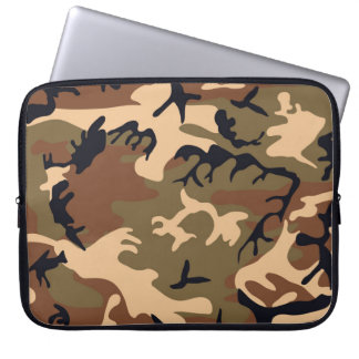 Cool Modern Camouflage Camo Design Laptop Sleeves