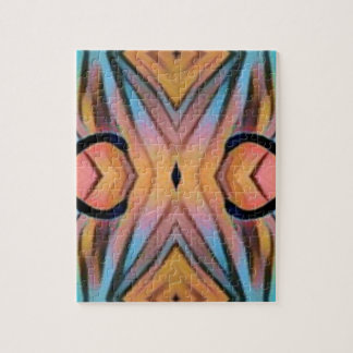 Cool Modern Chic Artistic Pattern Puzzle