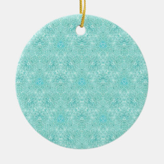 Cool Modern Customizable Background Round Ceramic Ornament