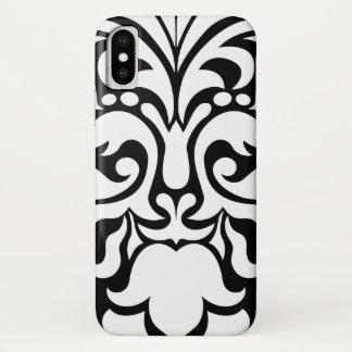 Cool Modern Damask Pattern iPhone X Case