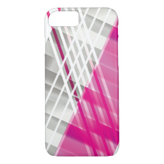Cool Modern Diagonal Stripes iPhone 8/7 Case