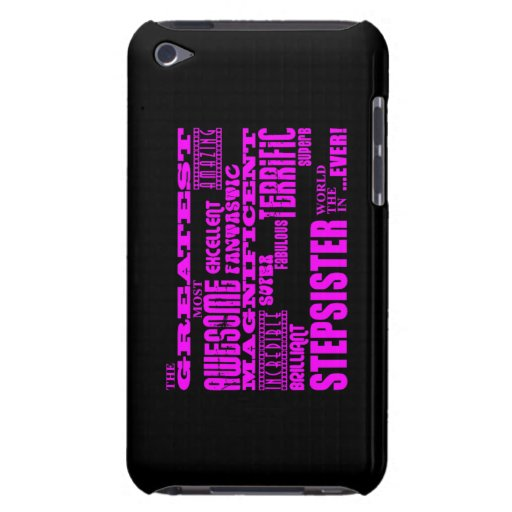 Cool Modern Fun Stepsisters : Greatest Stepsister Barely There iPod Case