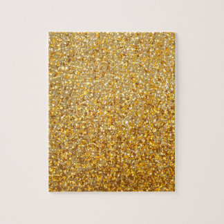 COOL MODERN GOLD WITH GLITTER PUZZLE