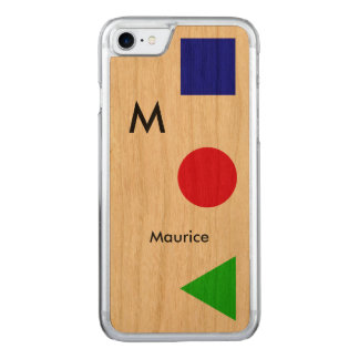 cool, modern, graphic and carved iPhone 8/7 case