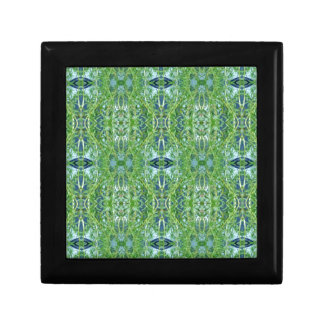 Cool Modern Green Tribal Pattern Gift Box