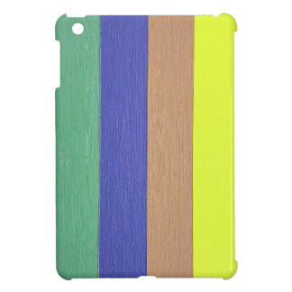 Cool Modern Linear Strips Of Colors iPad Mini Covers