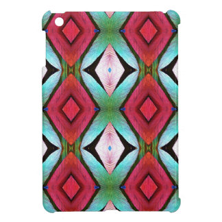 Cool Modern Magenta Teal  Pattern Case For The iPad Mini