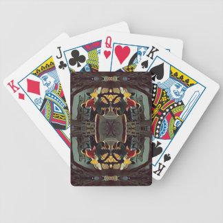 Cool Modern Masculine Hip Pattern Poker Deck