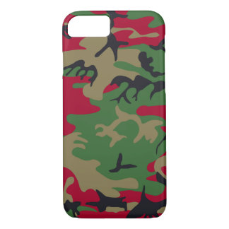 Cool Modern Military Camouflage Design iPhone 8/7 Case