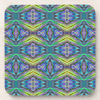 Cool Modern Multi colored Tribal Pattern Drink Coasters