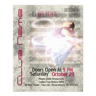 Cool Modern Nightclub Dance Club Business Flyer