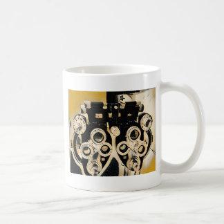 Cool Modern Optometrists Phoroptor Lenses Coffee Mug