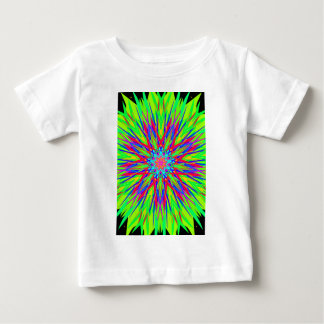 Cool Modern Radiating Artistic Abstract Baby T-Shirt