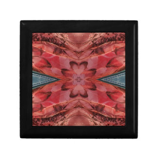 Cool Modern Rose Colored Pattern Gift Box