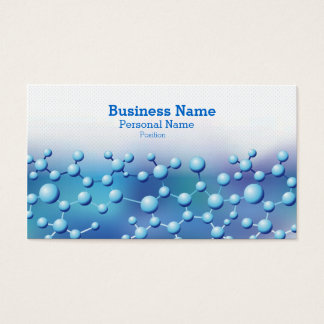 Cool Modern Science Laboratory Pharmacy Business Business Card
