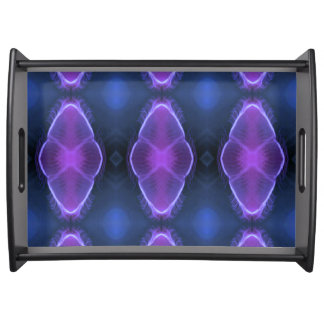 Cool Modern Symmetrical Photomanipulation Jellyfis Serving Tray