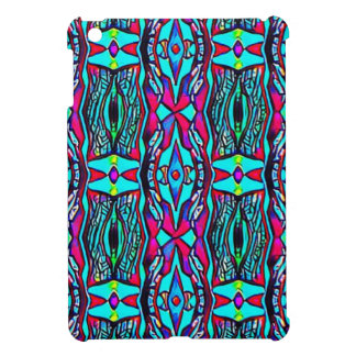 Cool Modern Vibrant colored Pattern Cover For The iPad Mini